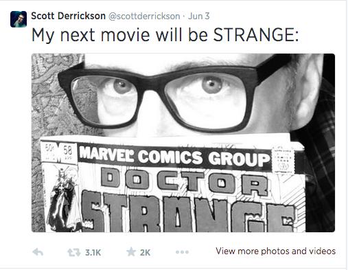 Scott Derrickson To Direct Marvel's Latest Phase Three Film, Doctor Strange
