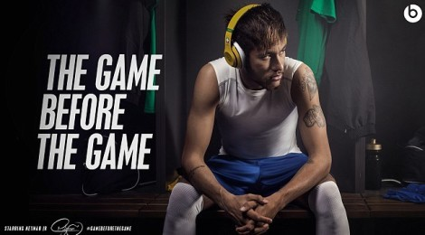 Neymar And A Host Of Other Footballers Enjoy 'The Game Before The Game' In Their Beats Headphones