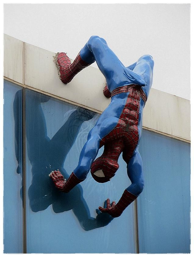 South Korean Spider-Man Statue Removed From Building For Sporting Enormous Erection