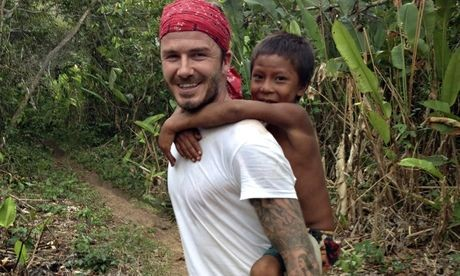 David Beckham's Amazonian Documentary, Into The Unknown, Is A Surprise Smash Hit