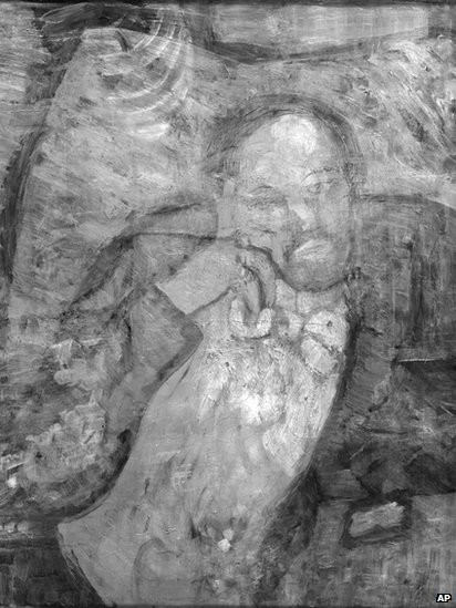 New Technology Reveals Hidden Portrait Under Pablo Picasso's Famous Painting, The Blue Room
