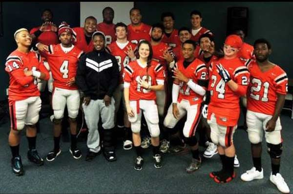 Girl Power: Female Football Player To Join University's All-Male Team