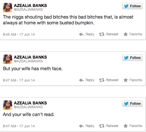 Azealia Banks Sparks Feud With T.I. After Rude Tweet About His Wife