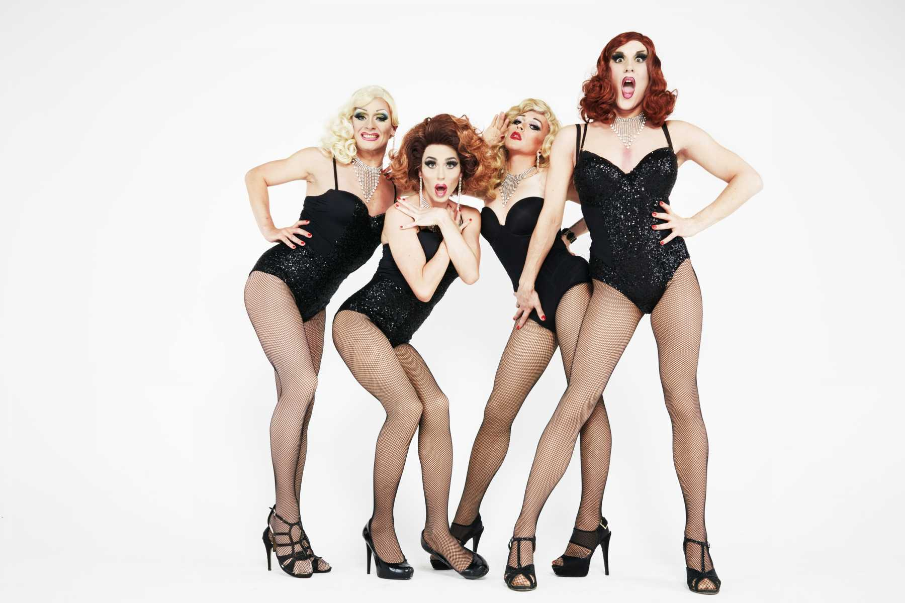 Curtain Up, Stilettoes On! Stars Of Drag Queens Of London Take Over The West End Stage