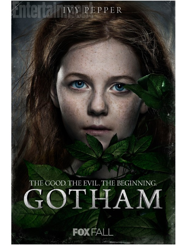 Gotham's New Character Portraits Reveal The Good. The Evil. The Beginning.