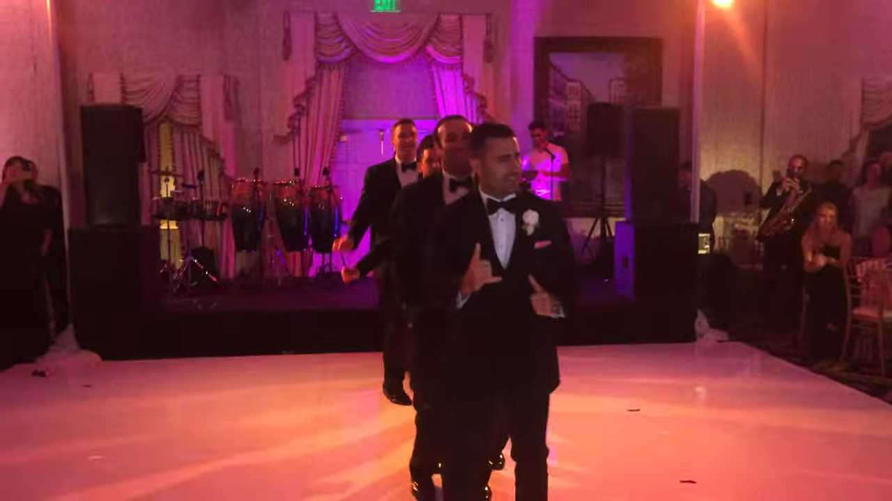 Groomsmen Worldwide Have To Step Up Their Game After This Epic Wedding Dance Hits The Internet