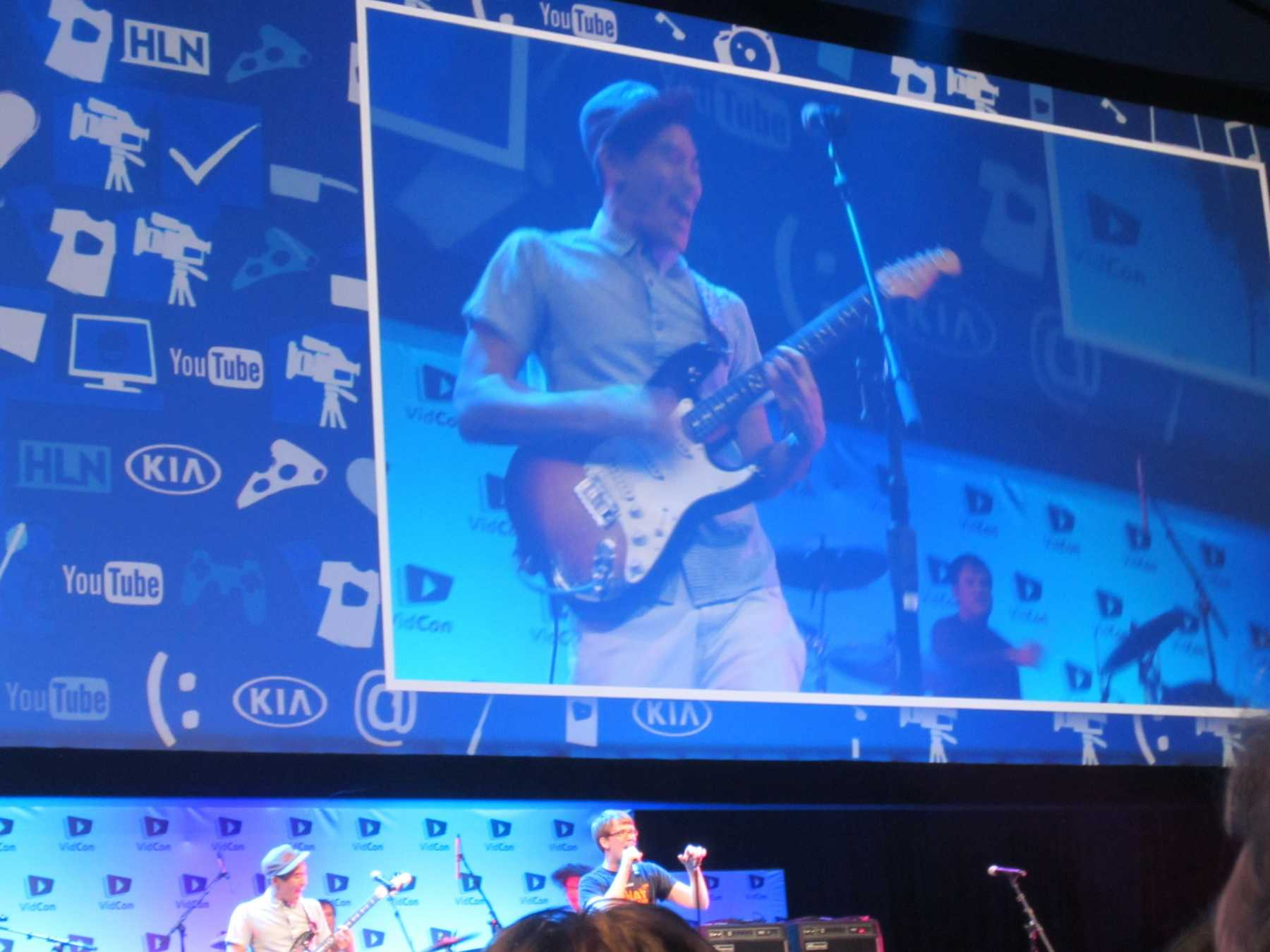 Musical YouTubers Take Centre Stage At VidCon 2014