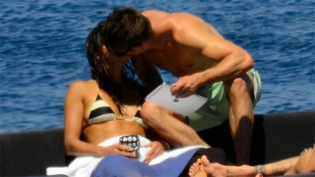 Possible New Couple Alert: Zac Efron And Michelle Rodriguez Get Kissably Close While Vacationing Together