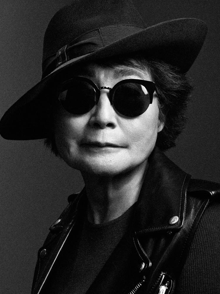 Yoko Ono Delivers