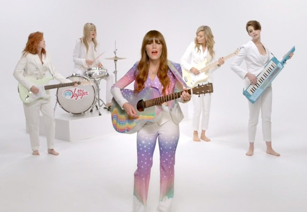 Anne Hathaway, Kristen Stewart, and Brie Larson Dress Up As Men For Jenny Lewis' New Music Video