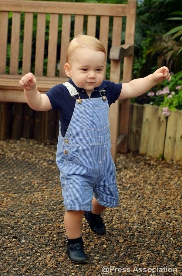 And He's Off! Brand New Photo Of Prince George Will Melt Your Heart!