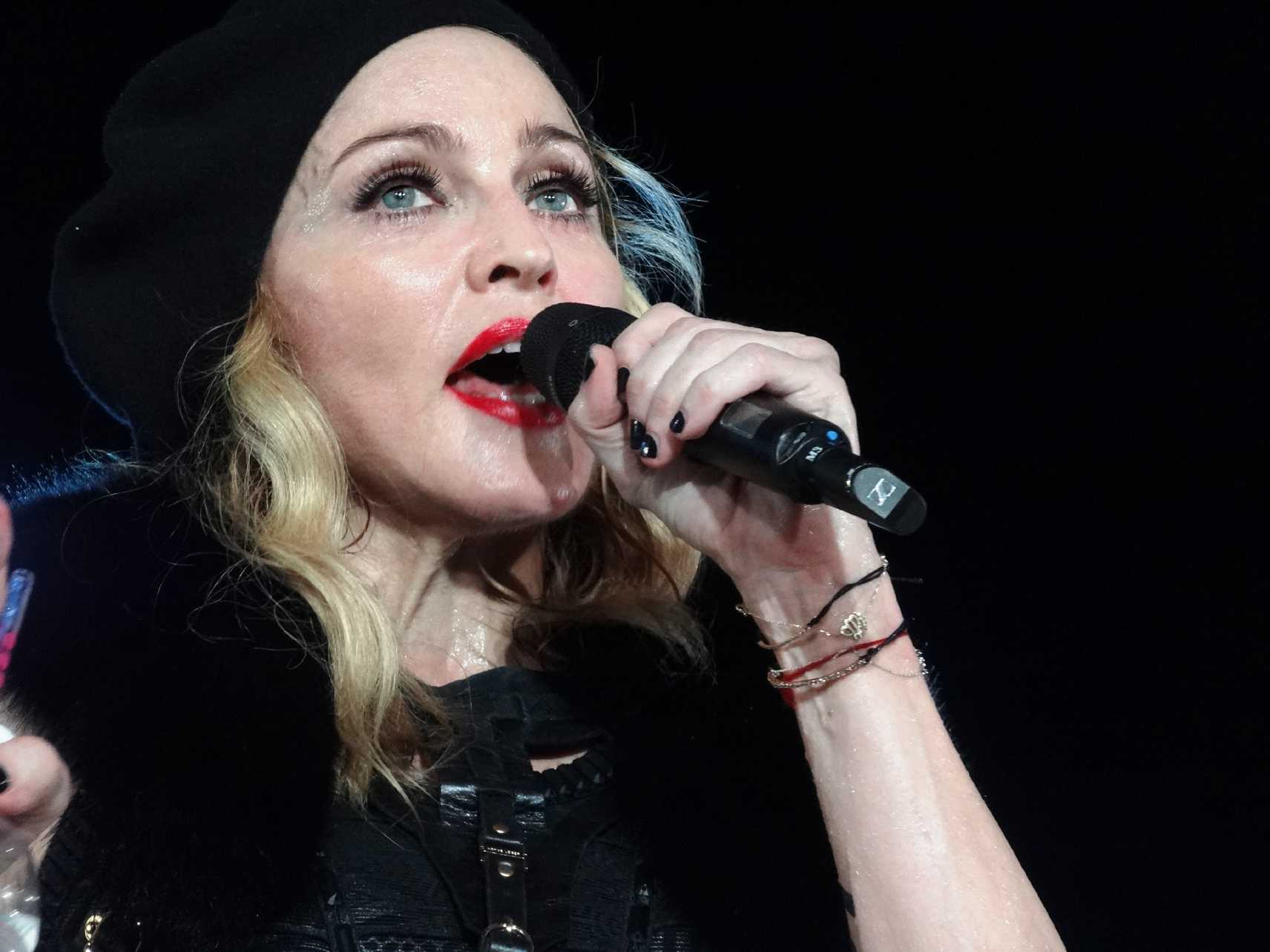 Madonna Re-Records Special Version Of Her '80s Hit
