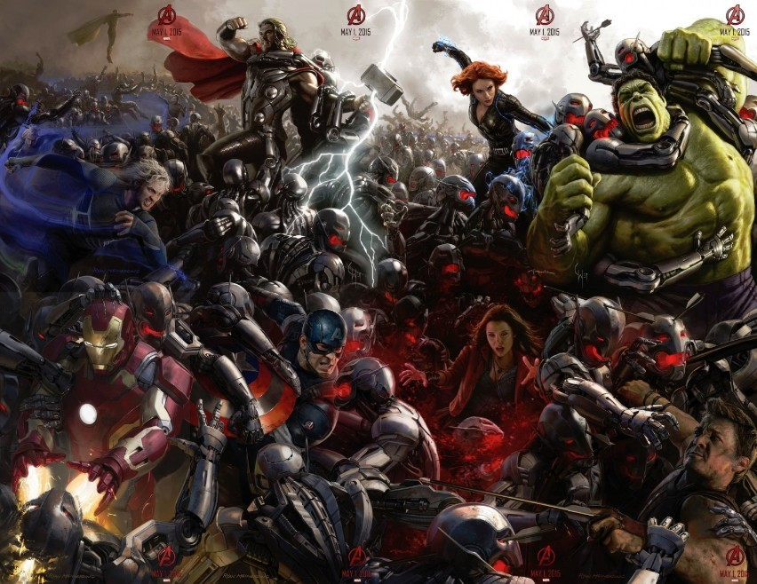 First Footage From Avengers: Age Of Ultron Revealed At Comic Con, And It's A Pretty Big Deal