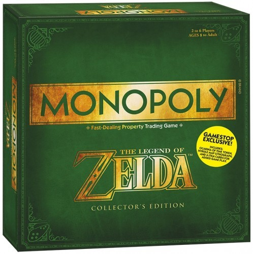 Prepare For Adventure: Legend Of Zelda Releases Limited Edition Monopoly Set | Zelda