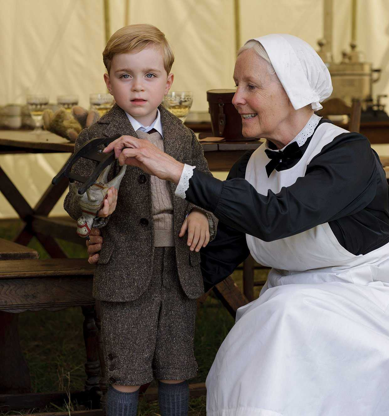 Meet The New Little Lord And Lady Of Downton Abbey | Downton Abbey