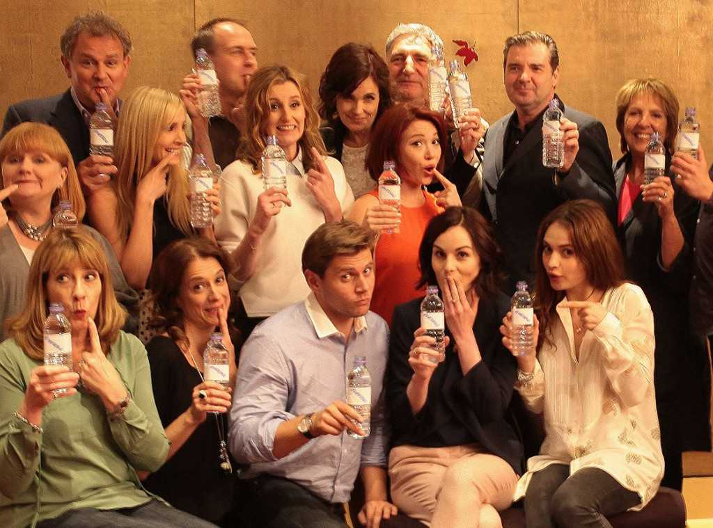 'Downton Abbey' Moves Into The Modern Era With Plastic Water Bottles | Downton Abbey