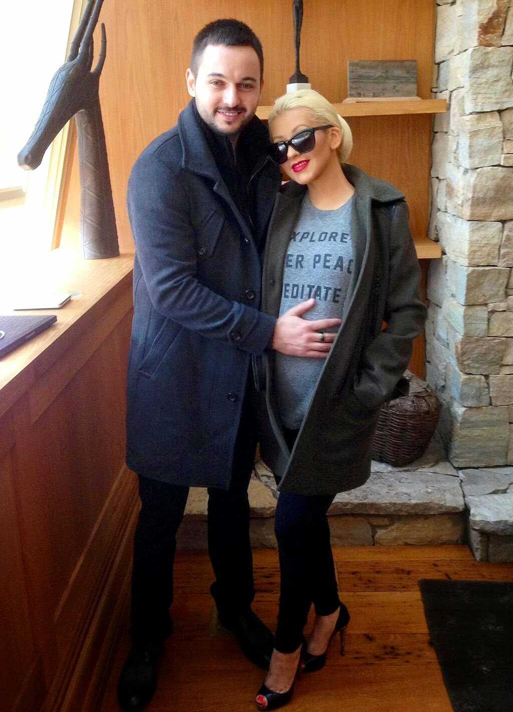 Christina Aguilera And Fiance Matt Rutler Welcome Baby Girl! | christina aguilera