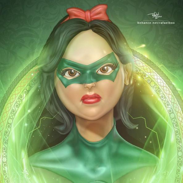 Artist Recreates Disney Princesses As DC Heroines | Disney