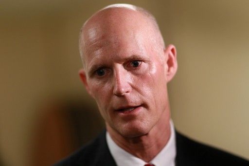 Florida Governor Rick Scott Meets With Scientists About Global Warming | Rick Scott