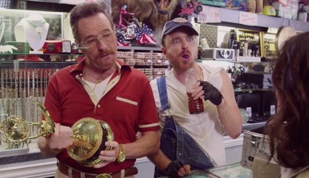 'Breaking Bad' Stars Team Up With Julia Louis-Dreyfus In Emmys Promo | Emmys