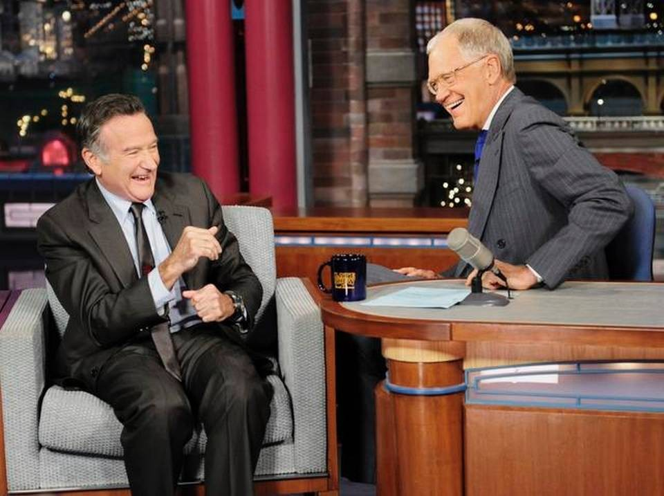 David Letterman Remembers Old Friend Robin Williams With Laughter | Robin Williams
