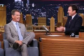 Jimmy Fallon Challenges Former James Bond to a Video Game Match | Jimmy Fallon