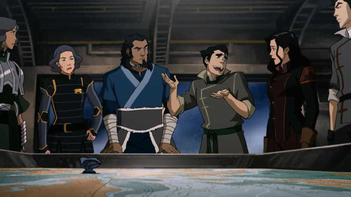 Sharmake's Shakedown: Season 3 Finale Of 'The Legend Of Korra' | The Legend Of Korra