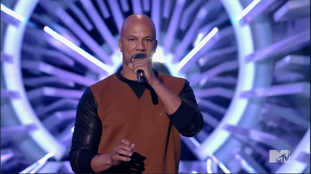 Rapper Common Speaks Up About Ferguson At The VMAs | common