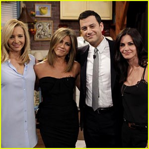One Half Of The FRIENDS Crew Reunited On Jimmy Kimmel | Friends