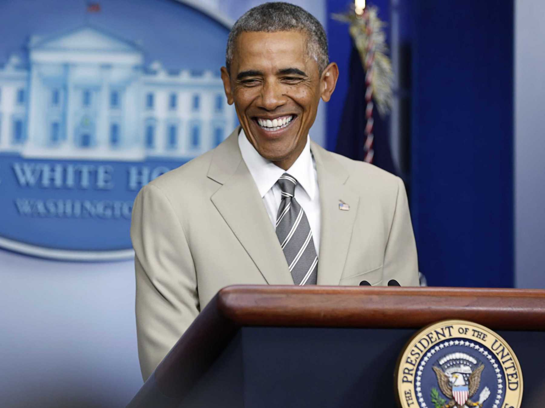 President Barack Obama's