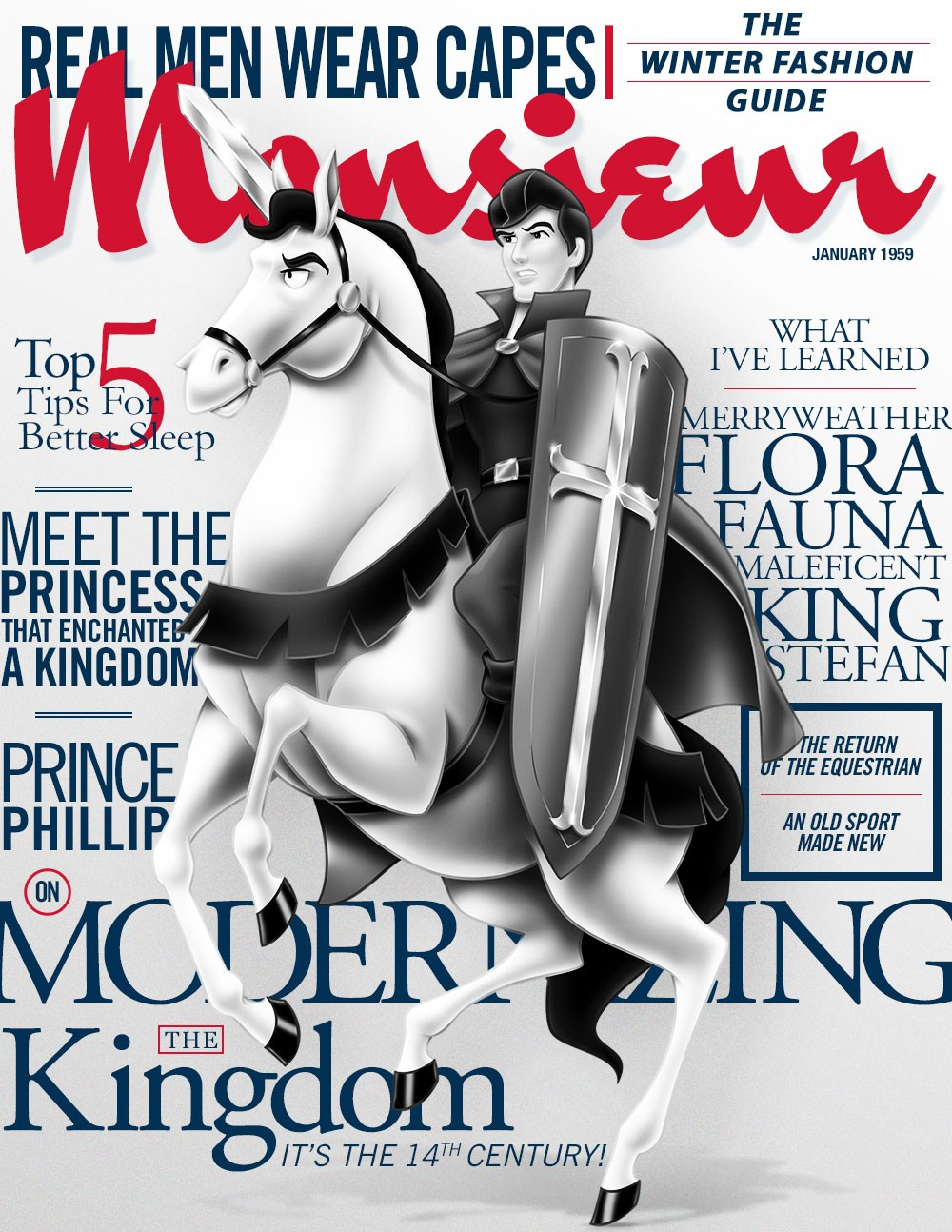 Royal Cover Stories: Check Out Your Favorite Disney Princes As Cover Models | Disney princes