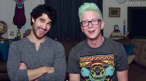 Tyler Oakley Films Video With 'Glee' Star Darren Criss To Finish Off