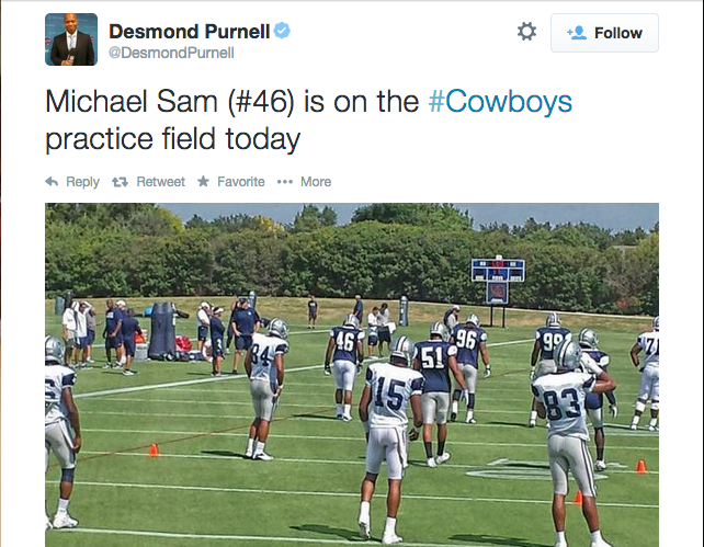 Michael Sam Added To Dallas Cowboys' Practice Squad | Michael Sam