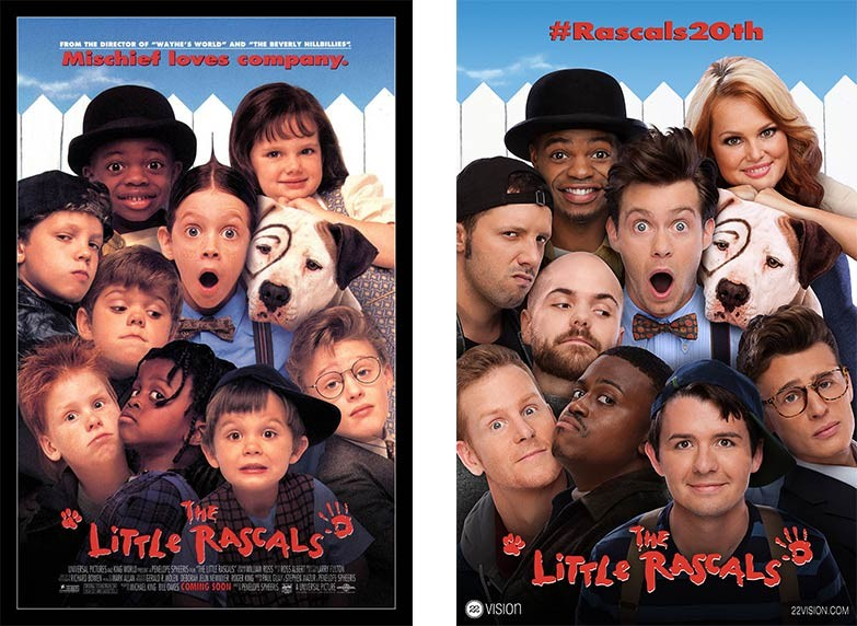 'The Little Rascals' Cast Celebrates 20th Anniversary With Photoshoot | Little Rascals