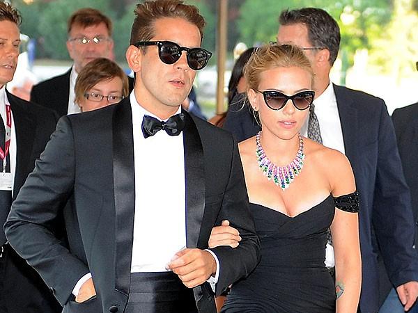 Scarlett Johansson And Husband Romain Dauriac Welcome Baby Girl | Scarlett Johansson