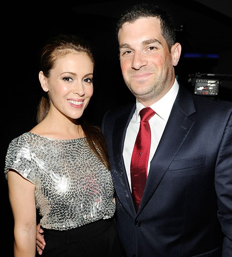 Baby Alert: It's A Girl For Alyssa Milano And Dave Bugliari | Alyssa Milano