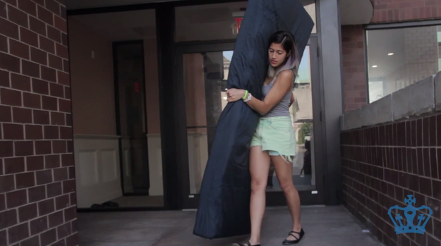 Columbia Student Vows To Carry Mattress Around Campus Until Her Rapist Is Expelled | Emma Sulkowicz