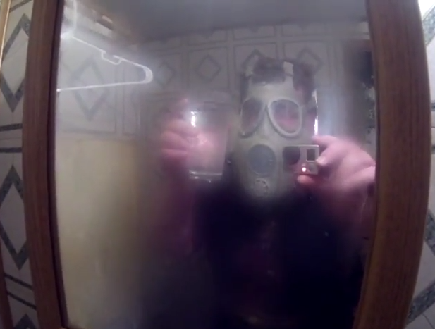 Shower Scare: Dad Pranks Son In Hilarious Video | shower scare