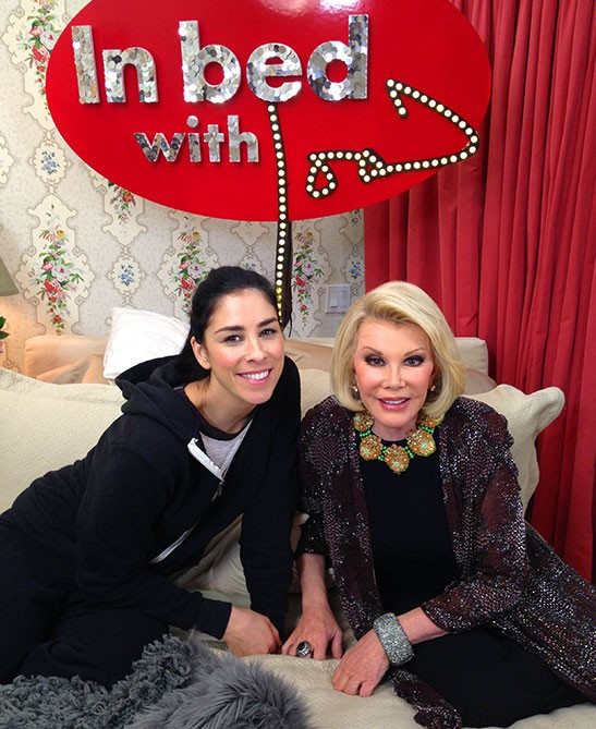 Sarah Silverman Remembers Her 'Hero' Joan Rivers With Humor | Sarah Silverman