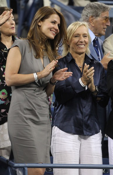 Love On The Tennis Court: Martina Navratilova Proposes To Her Girlfriend At The US Open | martina navratilova