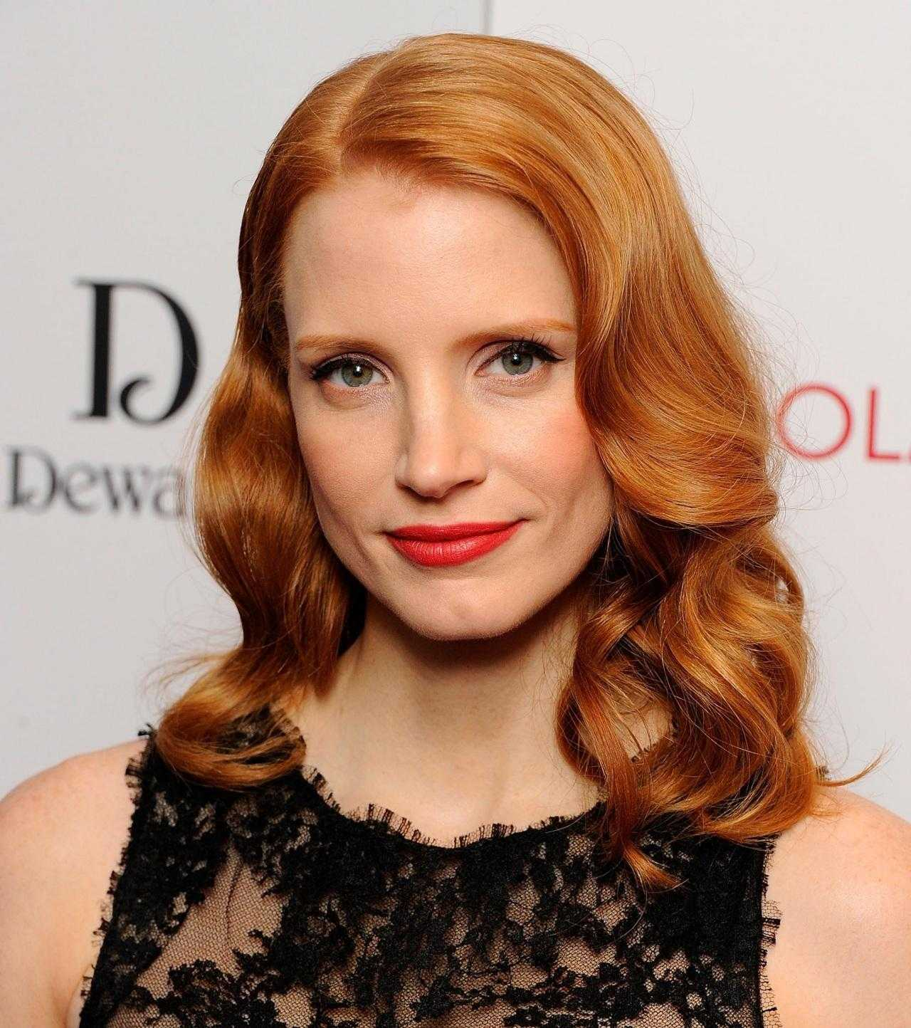Jessica Chastain Wants To Be A Superhero | jessica chastain