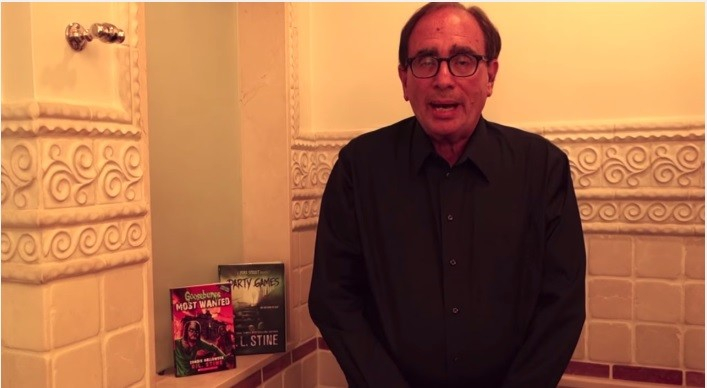 R.L. Stine Gives Us Goosebumps When He Does The Ice Bucket Challenge | ice bucket challenge
