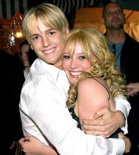 Hilary Duff Awkwardly Responds To Aaron Carter's Proclamations Of Love | Hilary Duff