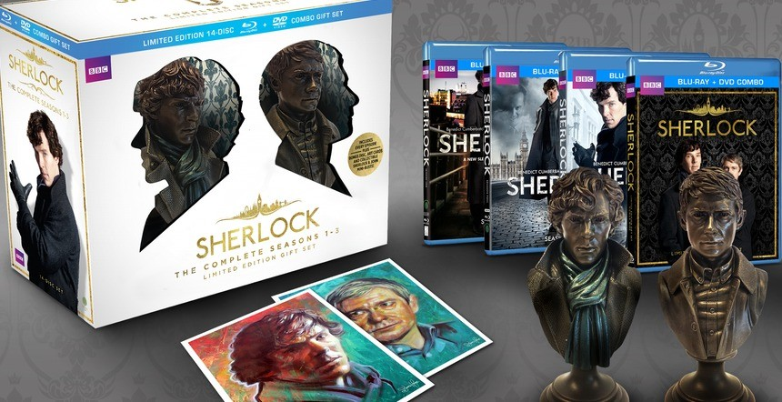 This New Sherlock Box Set Will Tide You Over Until Season 4 | Sherlock