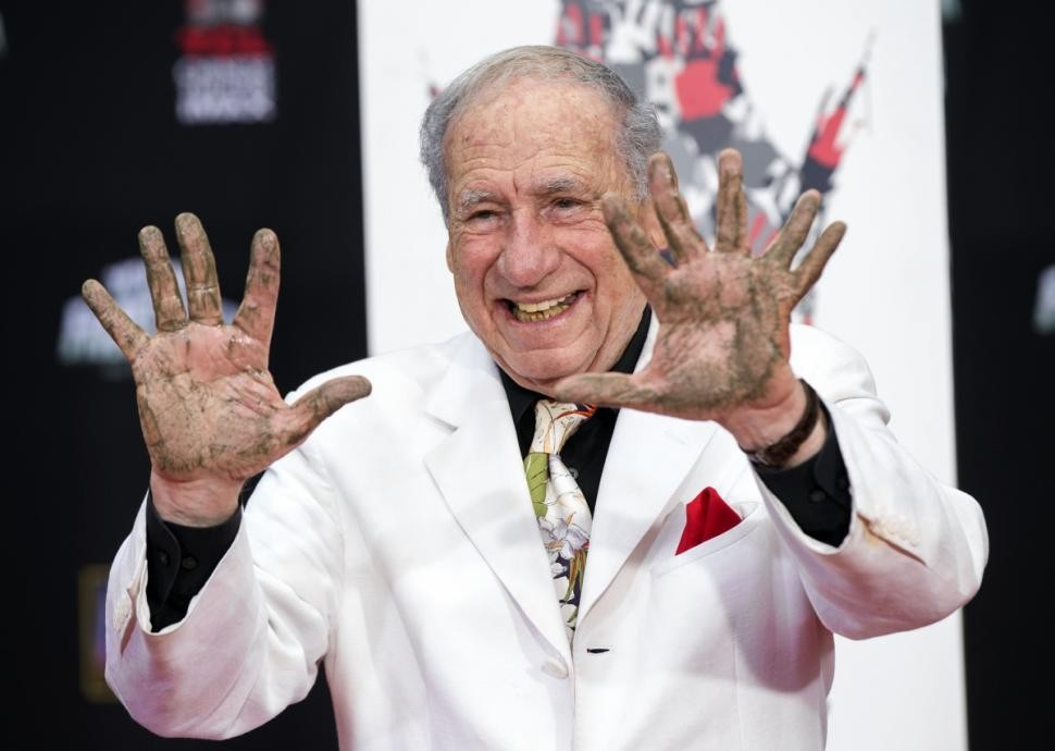Mel Brooks Pranks Hollywood During Walk Of Fame Ceremony | Mel Brooks