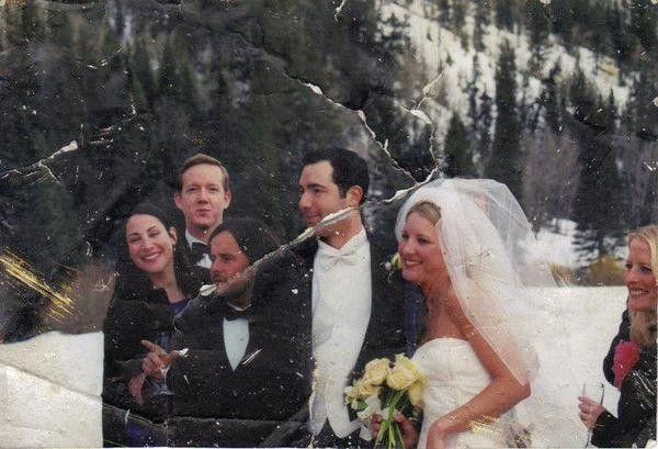 Professor Searches For Owner Of Wedding Photo Found In 9/11 Rubble | wedding photo