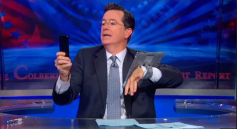Stephen Colbert Pokes Fun At The Apple Watch Excitement | Stephen Colbert