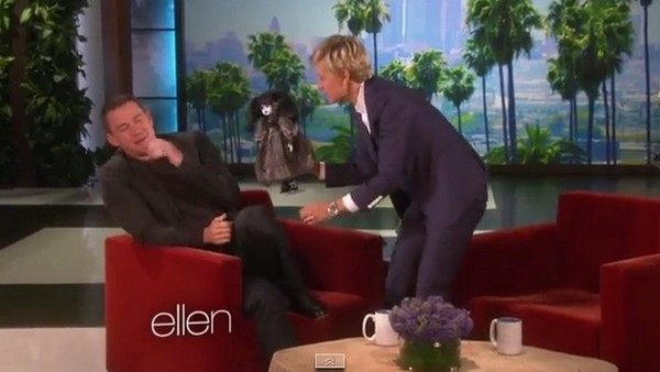 Ellen DeGeneres Torments Channing Tatum With His Worst Fear | Channing Tatum