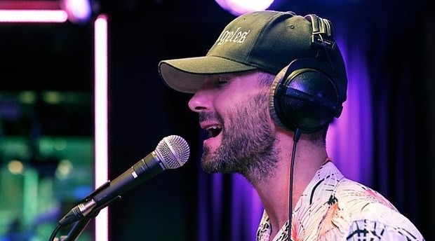 Maroon 5 Covers Pharrell Williams' 'Happy' In BBC Radio 1 Live Lounge | Maroon 5