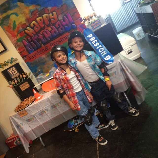Britney Spears Throws Skateboard-Themed Birthday Bash For Her Sons | Britney Spears
